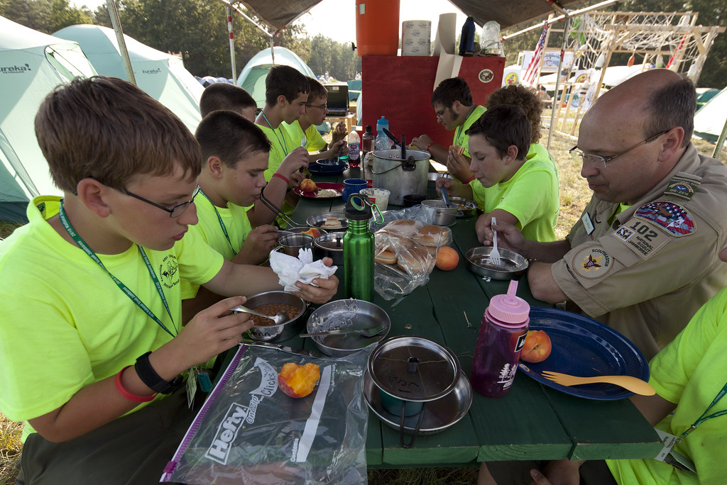 Feeding a city of teenagers without getting chomped