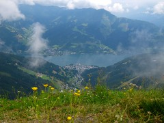 Looking Down on Zell Am See
