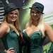 Pair of Green Hornet ladies