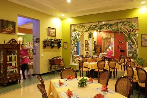 Interior pesta kebun semarang