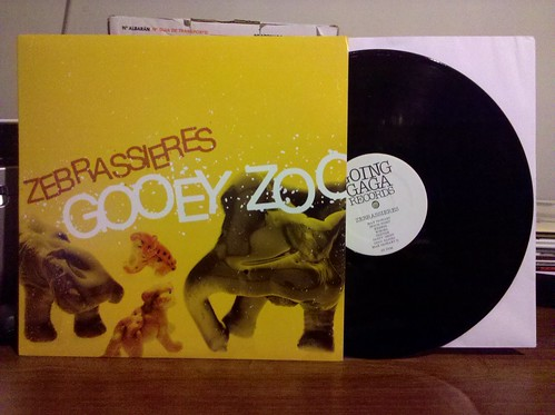 Zebrassieres - Gooey Zoo LP by factportugal