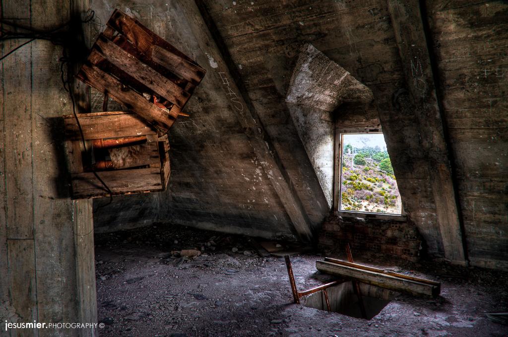 Abandoned dovecote
