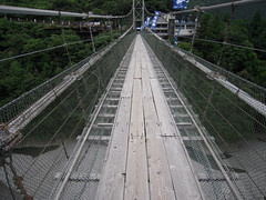 谷瀬の吊橋 - Suspension bridge of Tanize // 2010.07.28 - 33
