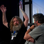 Alan Moore talks to Steve Bell |
