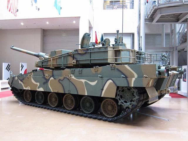 South Korean K2 Black Panther Main Battle Tank