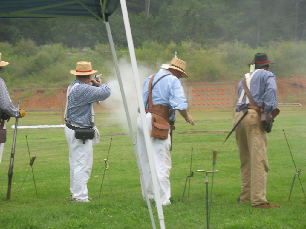 imgsc  Greg shooting his Smooth Bore Rifle