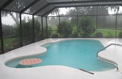 Sarasota - Swimming Pool in Rain