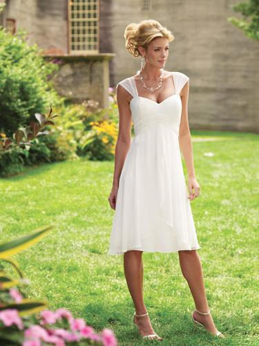 Casual Garden Wedding Dress
