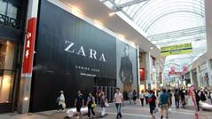 Anuncio de Zara en Japón