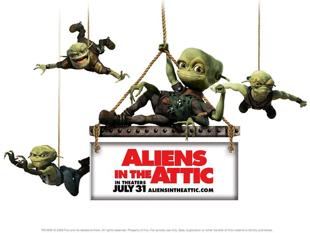 Header of Aliens in the Attic