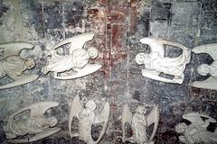 les anges de léglise saint martin église baroque Pont A Mousson