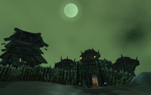 Orc Fortress in Desolace