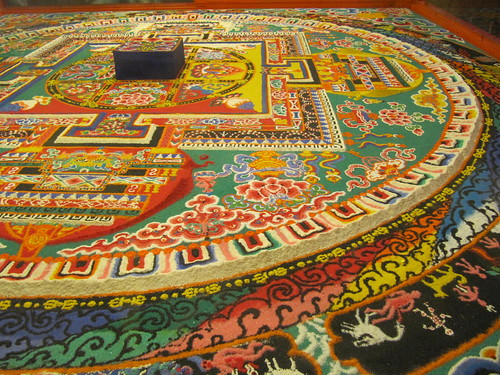 Large Sand Mandala, Tibet