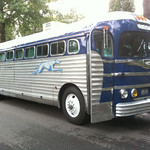 1948 Greyhound Lines Bus