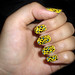 My nails are on super-leopard-fire