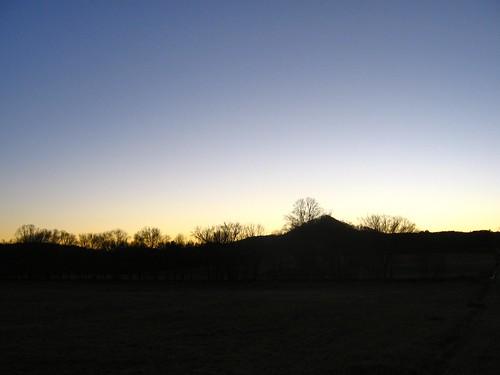 sunset evening gloaming upstatesouthcarolina lowertowns tamasseeknob