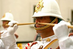 CGM 050 - Drummer Saluting