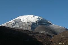 monte Cucco in inverno