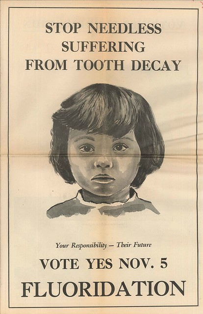 Fluoridation ballot measure campaign material, 1968