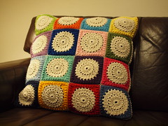 Crochet pillow (more pics in comments)
