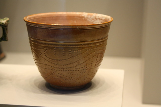 roman lead glazed cups