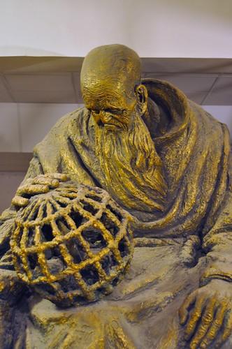 Nostradamus statue