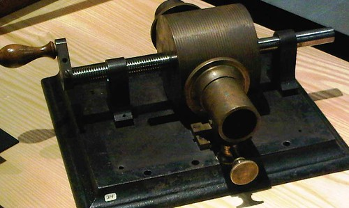 Edison's first phonograph