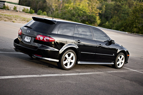 car one stop closer 2004 mazda 6 sport wagon. Black Bedroom Furniture Sets. Home Design Ideas