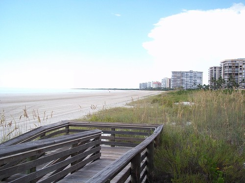beach florida boardwalk fl marcoisland