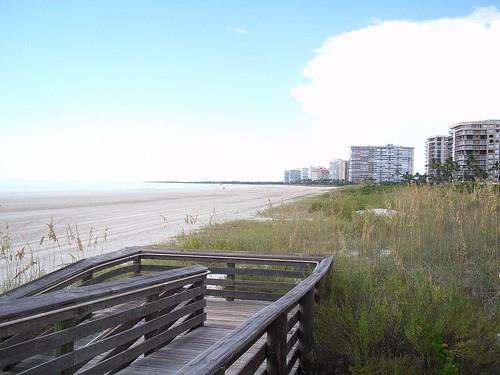 beach florida boardwalk fl marcoisland