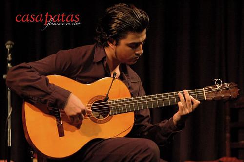 El guitarrista Rafita. Foto: Martín Guerrero