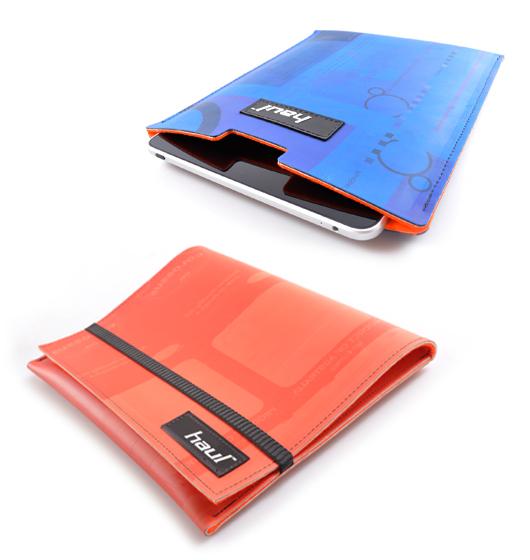 Print blanket iPad sleeve by haul