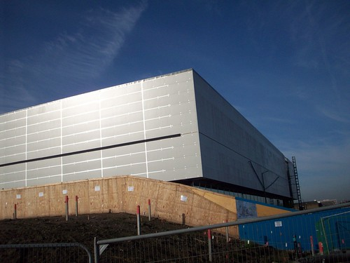 Around the London 2012 Olympic SIte - October 2010 - Handball Arena (3)