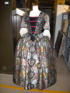 18th Century Mantua, or court dress