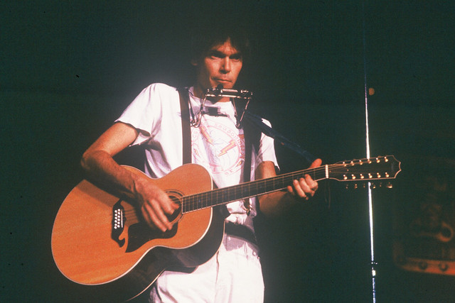 neil young 1978 neil youngs rust never sleeps tour at