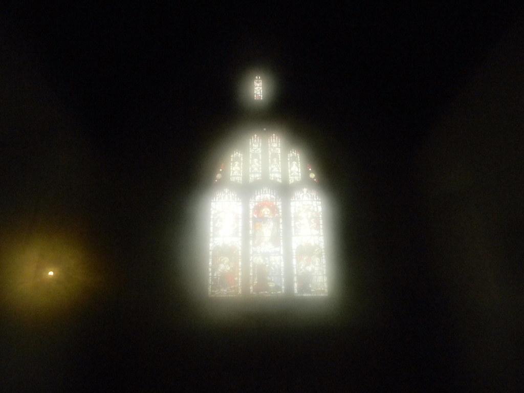 Inside the church, Silchester Mortimer to Aldermaston