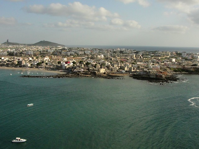 Dakar from Ngor