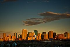 Sunrise on Edmonton