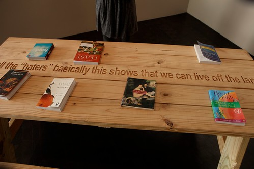 Fallen Fruit Reading Table