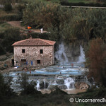 Saturnia Hot Springs in the Maremma Area of Tuscany