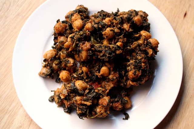 Moroccon Chickpeas and Spinach | Flickr - Photo Sharing!