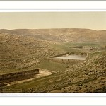The pools of Solomon Bethlehem Holy Land (i.e. Nein Israel)