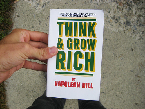 Think and Grow Rich (Napoleon Hill) - Blogging Bookshelf