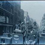 Newgate Street, London - lovely vintage street scene c. 1900