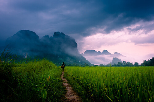 """Path to Wonder"" Loas~Travel~Asia~Photography~Mountains~Travel"