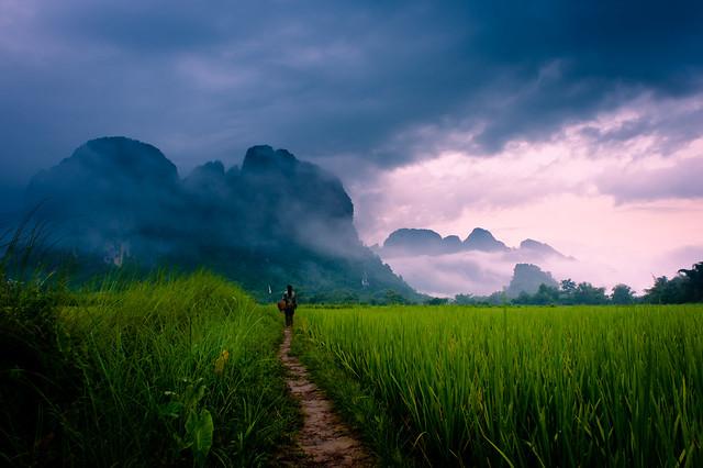 """Path to Wonder"" Loas~Travel~Asia~Photography~Mountains~Travel"