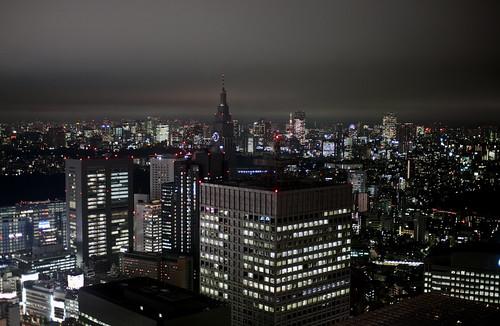 Tokyo at nite