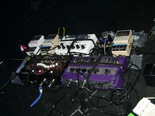Agata's (Melt Banana) pedals