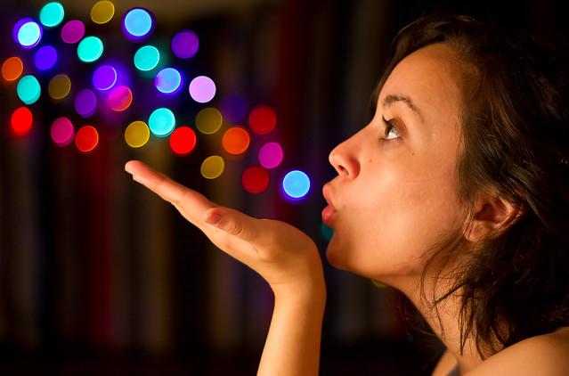 magic lights por Jennifer Rankine