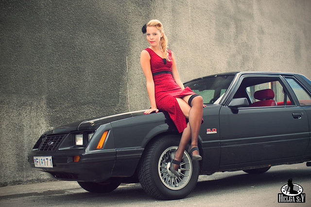 mustang pin up - photo #4